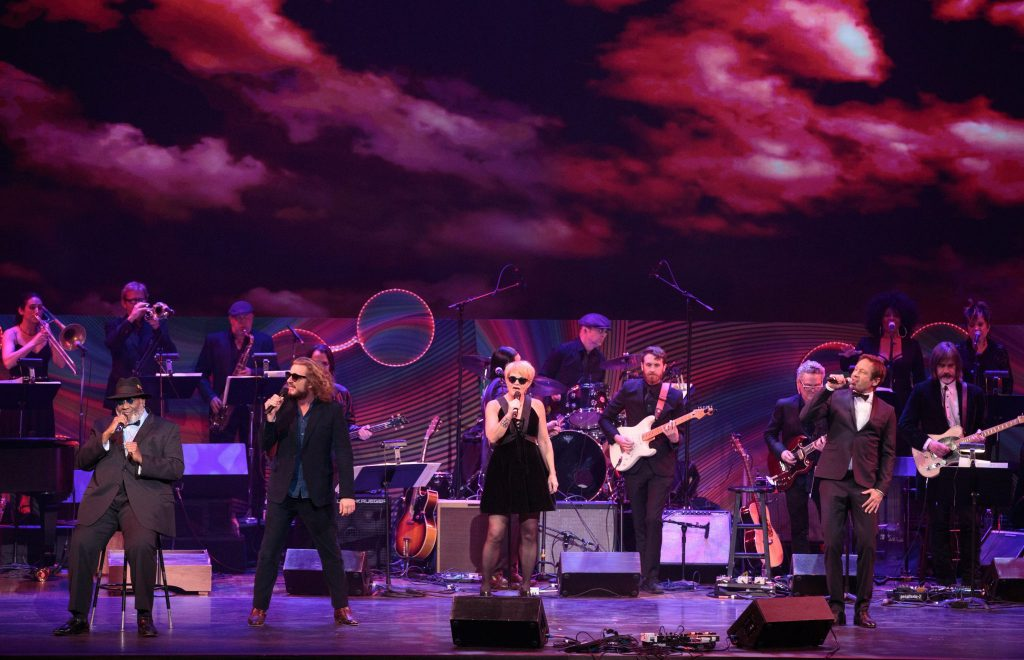Taj Mahal, Jim James, Shawn Colvin and wanna-be David Duchovny fill the Kennedy Center stage with a mixed bag of Beetles blues and rock.