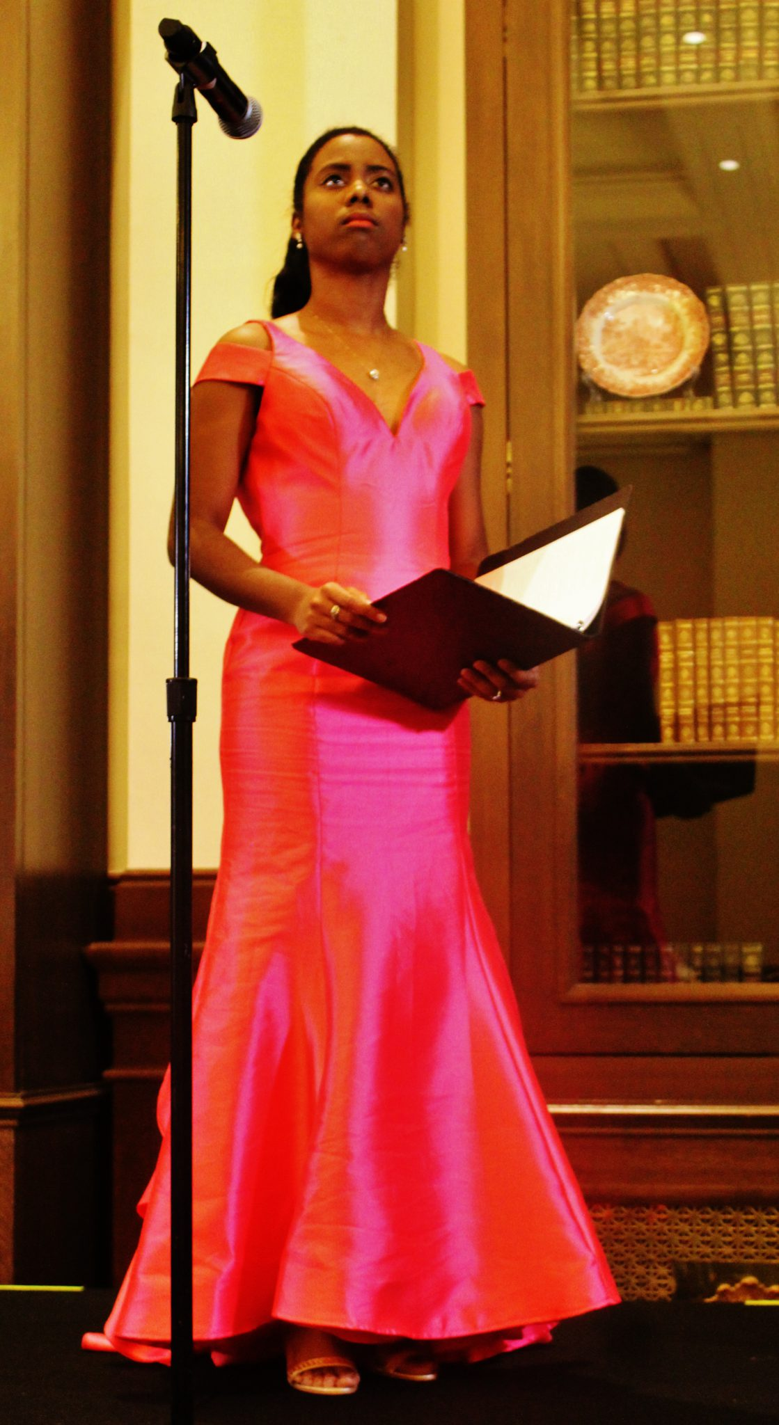 Kyaunnee Richardson in the lead role as Esther brought the commanding presence of royalty and glamour to the Trump International Hotel
