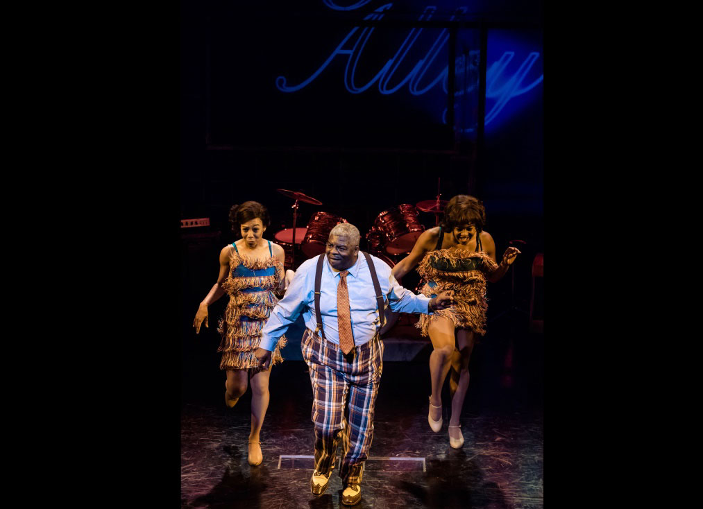 SOUL The Stax Musical at Baltimore Center Stage, Pictured: Mari Andrea Travis, Harrison White, and Chelsea Mitchell Photo: Jennifer Smutek